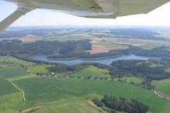 Letecké fotky přehrada